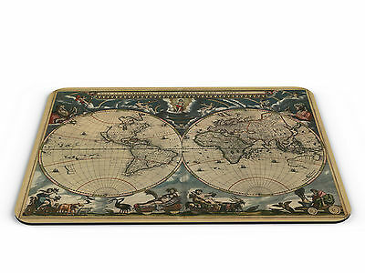 Old World Map Computer PC Mousemat - Brand New
