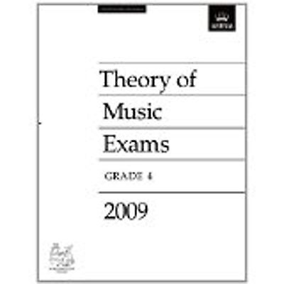 Theory of Music Exams Grade 4 Past Practice Paper 2009 ABRSM B52 S86