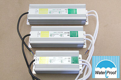 AC-DC 12V Waterproof Power Supply Adapter Transformer Driver IP67 for LED lot