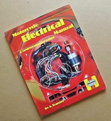 1950s-80s MOTORCYCLE ELECTRICAL SERVICE MANUAL BOOK LUCAS BSA TRIUMPH HONDA BMW