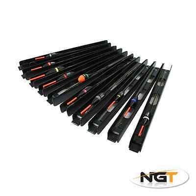 10 Assorted NGT Ready Made Barbless Pole Float Rigs Carp & Specimen Fishing