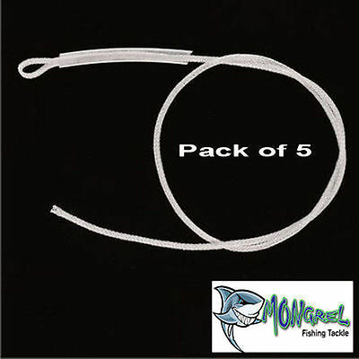 5 Pack FLY LINE LOOPS for fly fishing rod & reel, Loop Connector 30LB