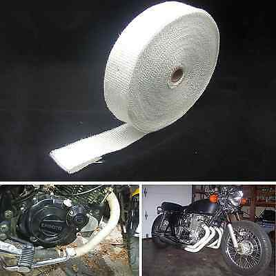 15m*5cm Turbo Manifold Heat Exhaust Thermal Wrap & Stainless Ties 2in x 50ft