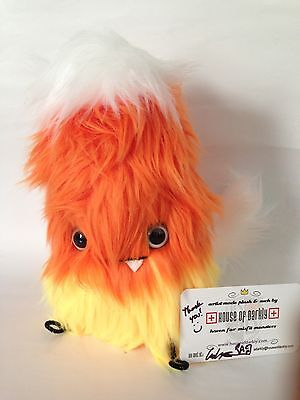 NYCC Exclusive House Of Darkly Handmade Sugar Candy Corn Monster Toy Fur Plush