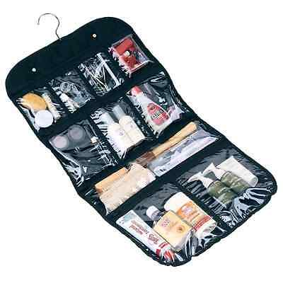 Household Essentials Hanging Cosmetic & Grooming organizer Travel Bag Black New