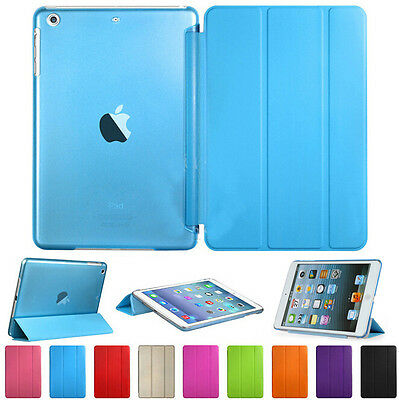 Ultra Slim Leather Magnetic Smart Case Stand Cover for Apple iPad 2 3 4 Mini Air