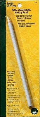 Dritz Quilting Water Soluble Marking Pencil, White. Brand New