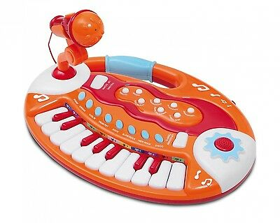 Bontempi Baby Keyboard and Microphone. Free Shipping