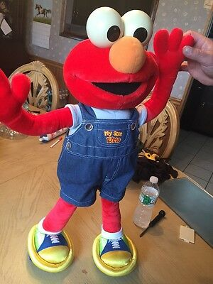 "27"" My Size ELMO Fisher Price Plush Poseable  Talking Ring Around The Rose 2002"
