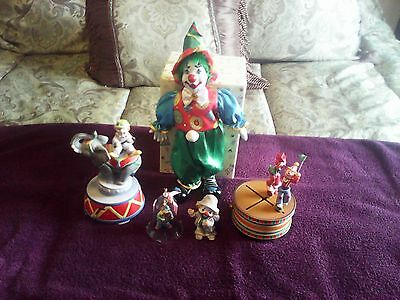 Many Colorful and Decorative Clowns