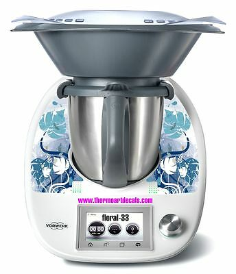 Thermomix TM5 Sticker Decal  (Code: Floral 33)