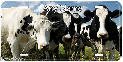 Cows Farm Any Name Personalized Novelty Car License Plate