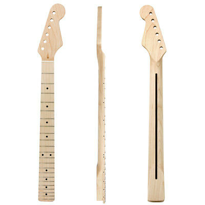 Maple Wood Electric Guitar Neck 22 Fret Rosewood for ST Replacement Parts