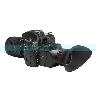 GGS S2 3X Foldable Optical Viewfinder 4:3 LCD for Canon 5D Mark III Nikon D800