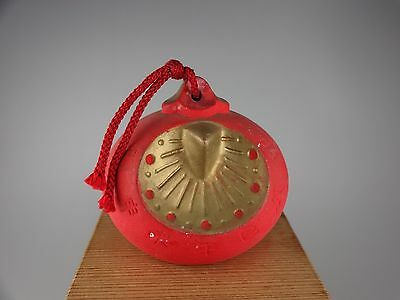 YD11 Japanese Vintage pottery Bell Ceramic Clay Charm amult