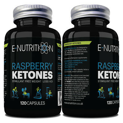 RASPBERRY KETONE *120 CAPSULES NOT TABLETS 1000mg* RASBERRY KEYTONE KEYTONES
