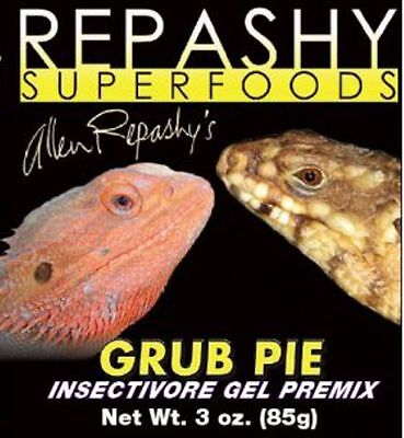 Repashy Grub Pie -  Insectivore Gel Premix Food -  Insect Based Gecko Diet