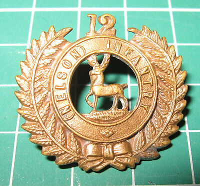 BELIEVED TO BE A RARE ORIGINAL: WW1 New Zealand 12th (Nelson) Regiment Badge