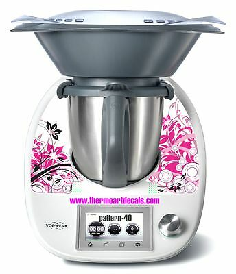 Thermomix TM5 Sticker Decal  (Code: Pattern 40)