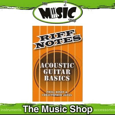 New Riff Notes: Acoustic Guitar Basics Pocket Music Tuition Book