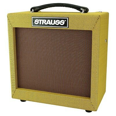 New Strauss 5 Watt Electric Guitar Valve Amplifier Tube Amp
