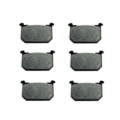 Volar Front & Rear Brake Pads for 1981-1982 Kawasaki KZ1000 LTD / CSR