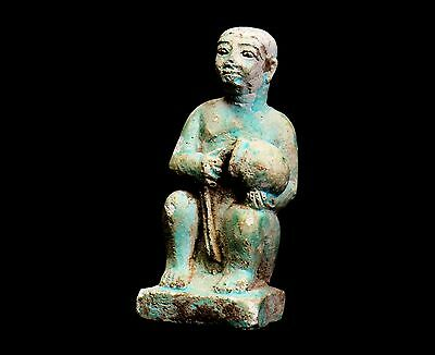 Aphrodite- Ancient Egyptian Faience Male Eroticon • CAD $8,001.00