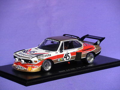 Bmw 3.5 Csl Le Mans 1976 Walkinshaw Fitzpatrick Spark S1567 1:43 Low Price New