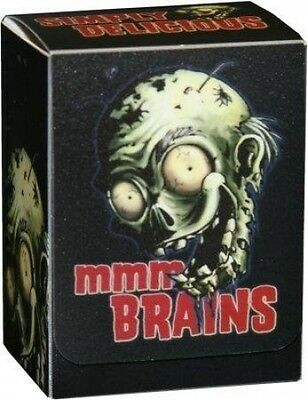 Legion Supplies Zombie Brains MTG Deck Box Card Armour Holds 85 Sleeved Cards. S