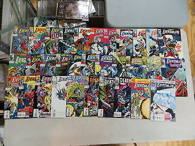 Deathlok 32 Issue Comic Run 1-33 Annuals 1 2 Marvel