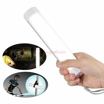 Portable Rechargeable LED Flashlight Torch Lantern Camping Lamp with Flash Mode