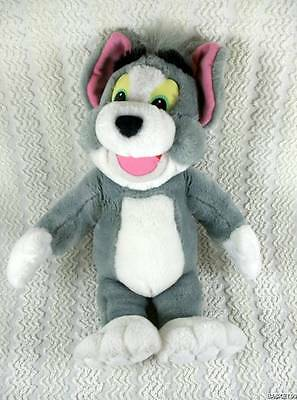 "Mattel Arco 1993 Tom & Jerry Cat Plush TOM Doll Toy 16"" Soft & Clean HTF"