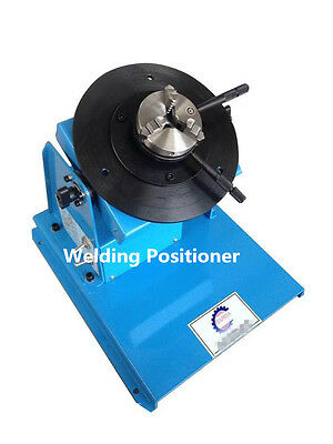 2-18RPM 10KG Light Duty Welding Turntable Positioner with 80mm Chuck k