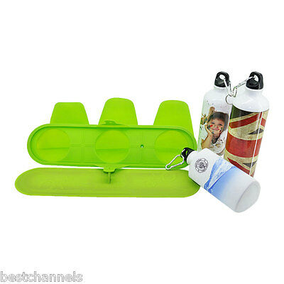 3D Vacuum Sublimation Silicone Mug Mold Clamp Wrap for 750ML Sport Bottle