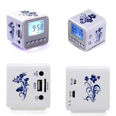 NiZhi TT-032A LCD Display Alarm Clock Digital Speaker FM radio USB TF MP3 Player