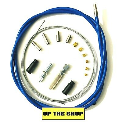 Venhill Universal Blue Throttle Cable  MX, Enduro,Trials, Kit  U01-4-100