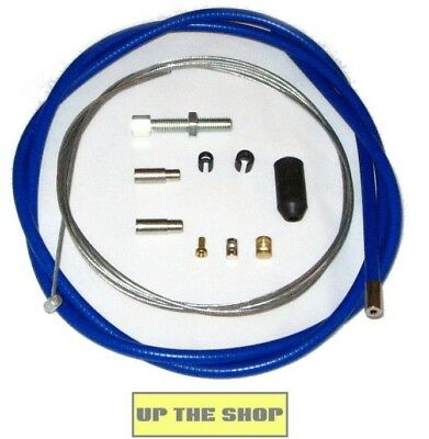 Venhill Universal Blue Clutch Cable Motorcycle Kit, 1.35m, U01-1-100