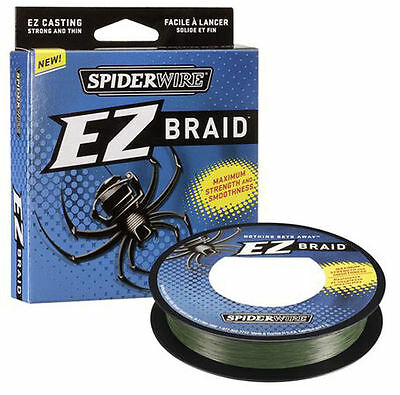Spiderwire EZ Fishing Braid - 300YDS - Moss Green - All Breaking Strains
