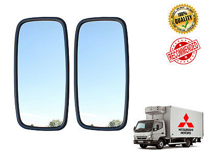 2x 36cm x 18cm Main Mirrors MITSUBISHI FUSO CANTER 2005  fits Left/Right Side