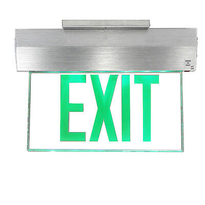 Cooper Lighting Architectural Aluminum Exit Sign, Led, 120/277 V, $300 Retail!
