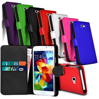 2in1 Leather Book Wallet Cover Case Pouch For Samsung Galaxy Note 3 N9000 N9005