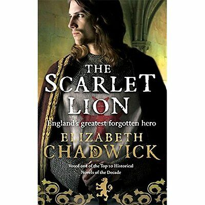 The Scarlet Lion Chadwick Historical fiction Sphere PB / 9780751536591