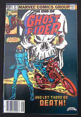 GHOST RIDER #81 - FINAL ISSUE of 1973 SERIES - MARVEL (1983) 9.0 VF/NM