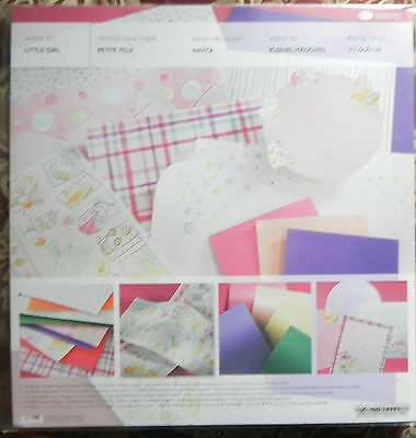 Creative Memories Little Girl Album Kit Bnip