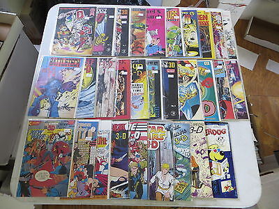 3D Comic Book Lot 30 Issues Star Wars Red Sonja Gi Joe Blackthorn Rare