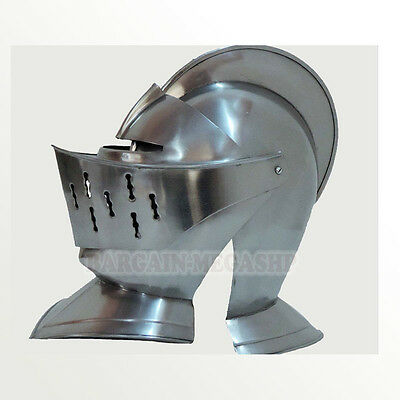 Knight Antique Helmet Replica Medieval Knight Crusader Armor Gift & Decorative