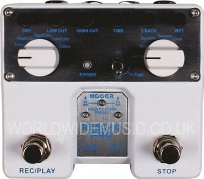 Mooer Audio Reecho Pro Digital Delay Guitar Effects Pedal / Stomp Box   MTWINDD1