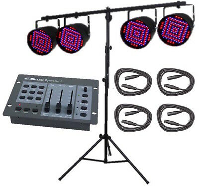 Par 56 Led Lighting Package Inc Stand, Controller & Cables