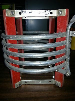 """RF Inductor Coil 7.5 uH, 40 Amp, 1/2"""" Diameter Silver Tubing"""