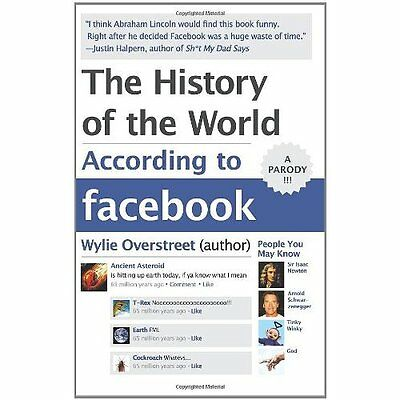 History World According to Facebook Overstreet Humour HarperColli. 9780062076182